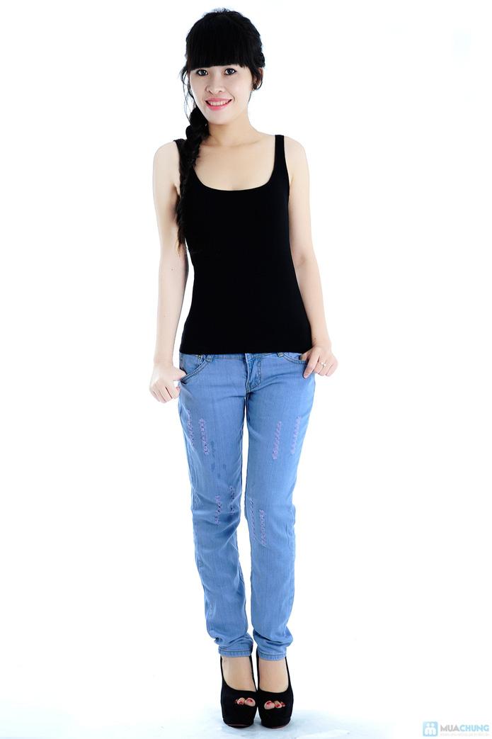 Quần jean nữ xuất khẩu - 4