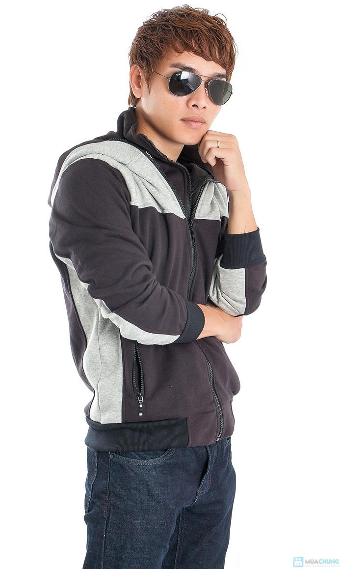 Phong cách mạnh mẽ với áo khoác nam - 5