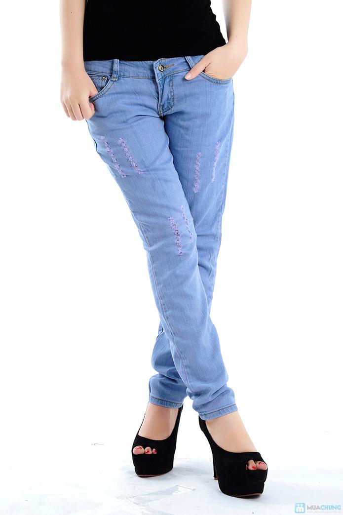 Quần jean nữ xuất khẩu - 1