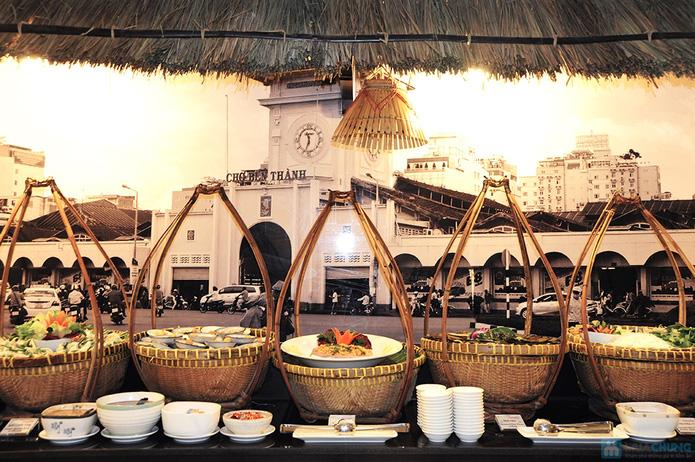 Buffet Gánh buổi tối tại Khách sạn Bông Sen - 9