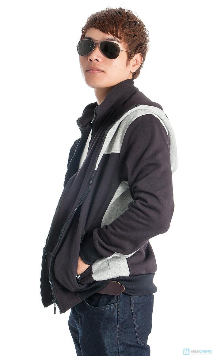 Phong cách mạnh mẽ với áo khoác nam - 4