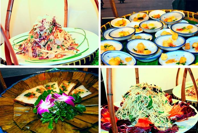 Buffet Gánh dành cho buổi trưa với hơn 40 món ăn đặc sắc 3 miền - Khách sạn Bông Sen - 4