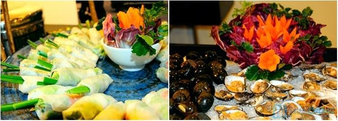 Buffet Gánh dành cho buổi trưa với hơn 40 món ăn đặc sắc 3 miền - Khách sạn Bông Sen - 5
