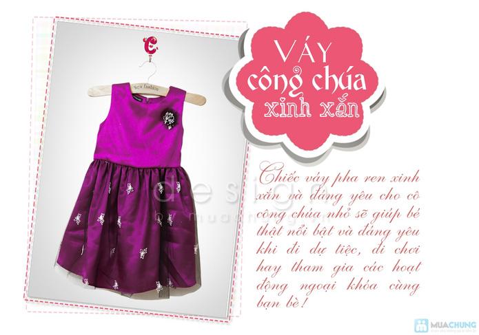 Váy công chúa xinh xắn cho bé gái - 1