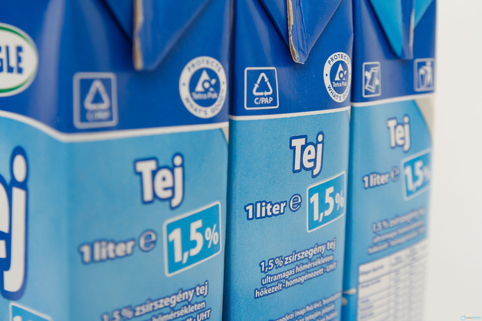 combo 6 hộp sữa Meggle Tách kem loại 1L của Đức - 10