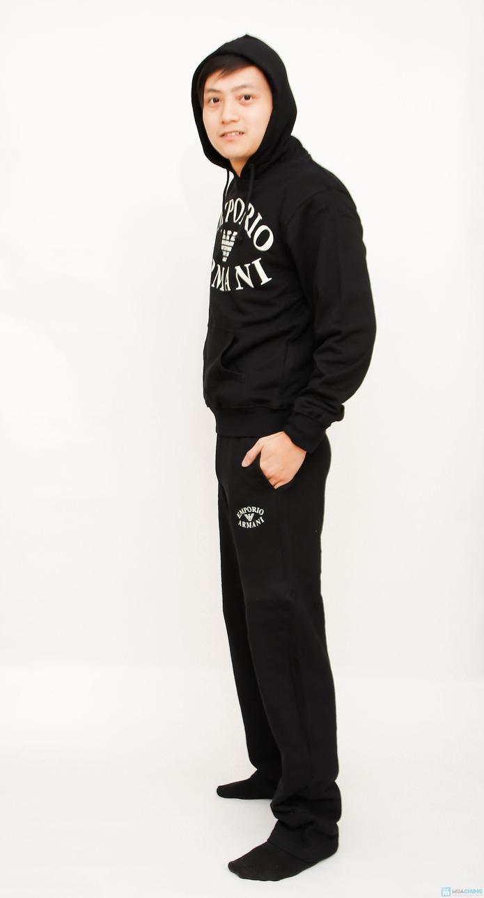 bộ đồ nỉ thể thao cao cấp cho nam - 8
