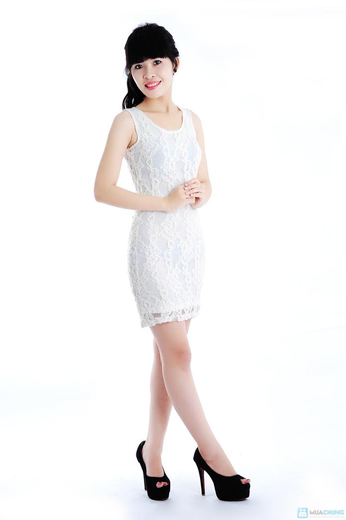 Đầm ren dáng ôm - 3