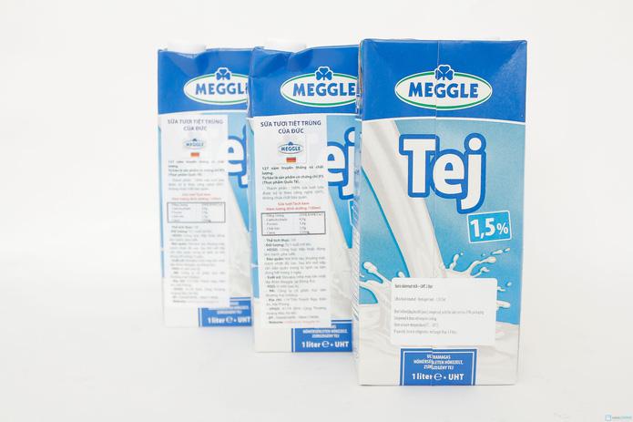 combo 6 hộp sữa Meggle Tách kem loại 1L của Đức - 2