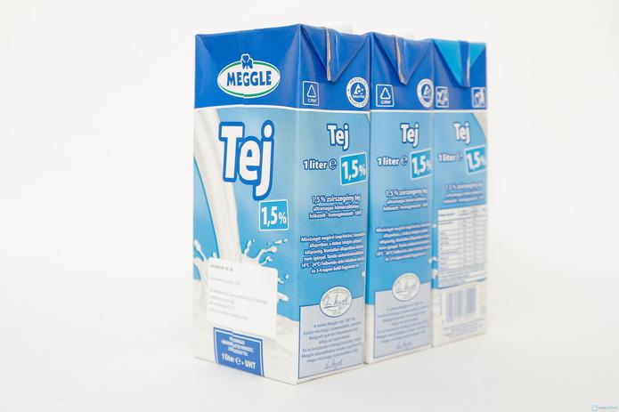 combo 6 hộp sữa Meggle Tách kem loại 1L của Đức - 9