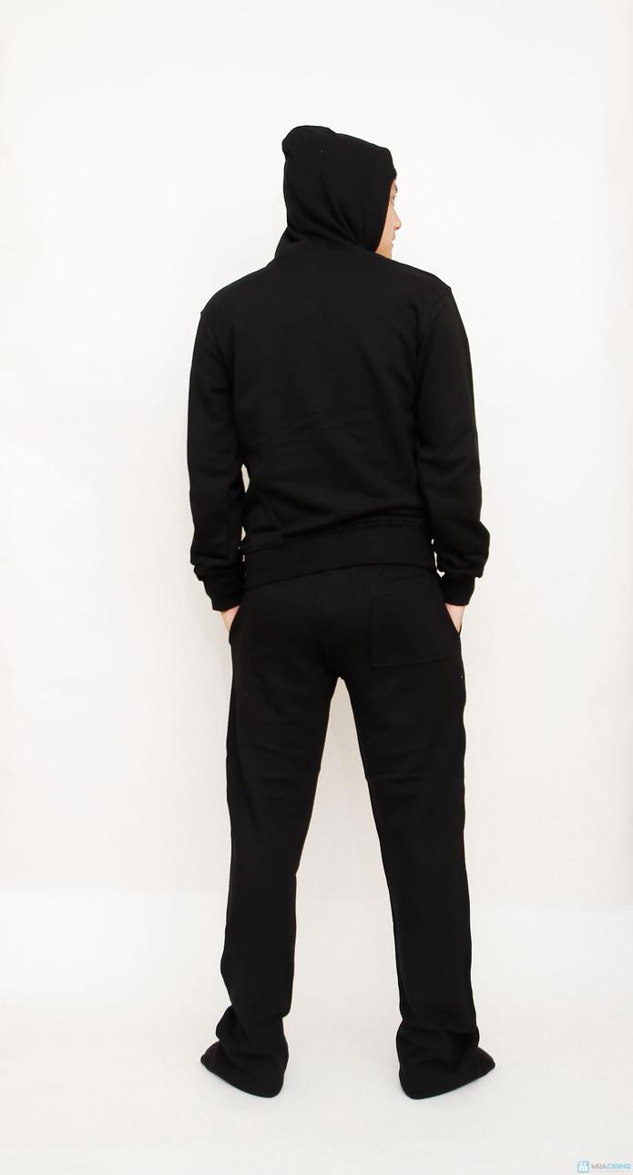 bộ đồ nỉ thể thao cao cấp cho nam - 10