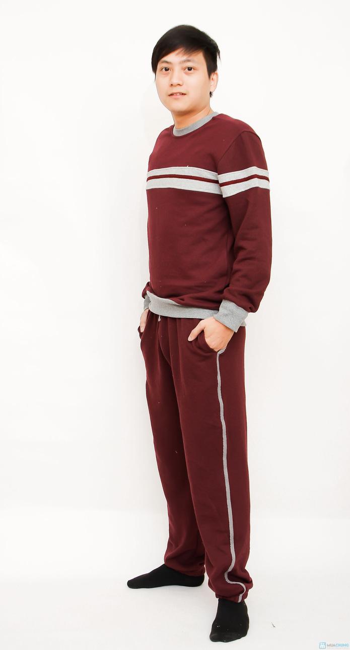 Bộ quần áo nam nỉ da cá - 9