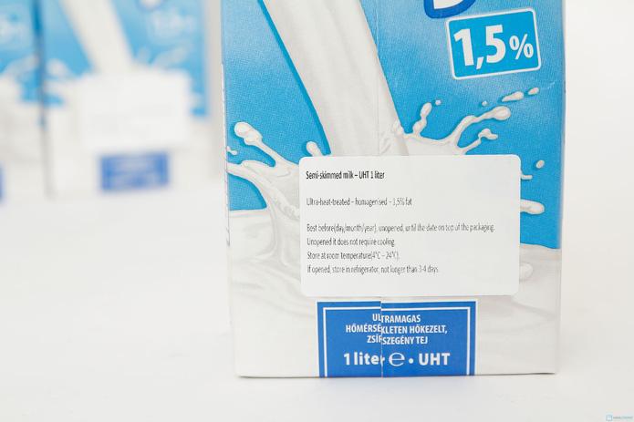 combo 6 hộp sữa Meggle Tách kem loại 1L của Đức - 5