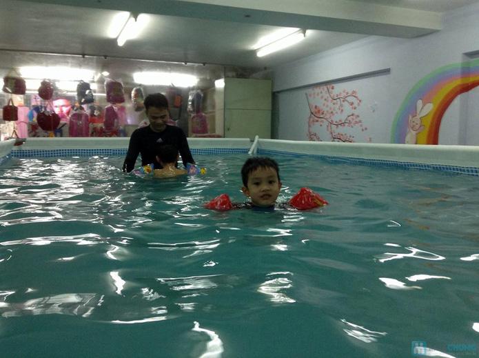 Cuối tuần bổ ích với khóa học bơi bể bơi nước nóng - 1