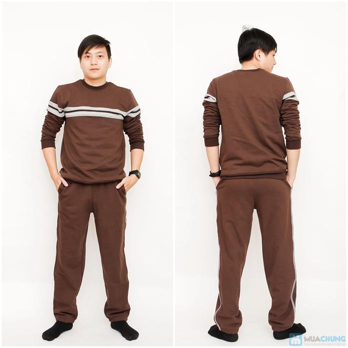 Bộ quần áo nam nỉ da cá - 8