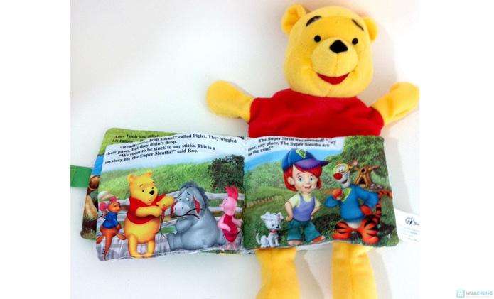 Sách vải kèm rối tay cho bé - 10