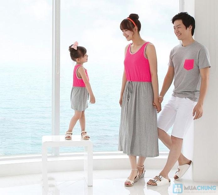 Đầm đôi cho mẹ và bé - 1