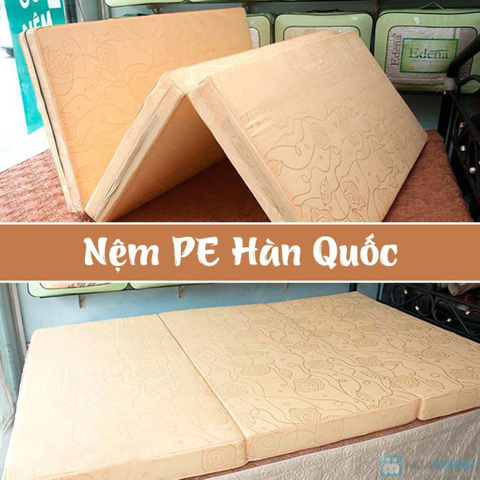 Nệm PE Hàn Quốc 1m6 x 2m x 10cm - 3