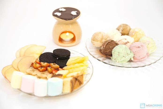 Lẩu kem tại cửa hàng bánh kem Bcake - 10