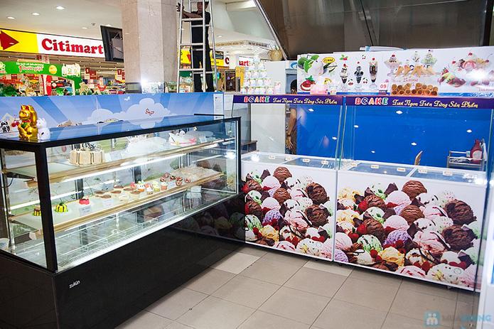 Lẩu kem tại cửa hàng bánh kem Bcake - 6