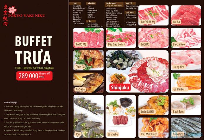 Buffet Trưa Nướng & Lẩu - Nhà Hàng Tokyo Yakiniku - 2