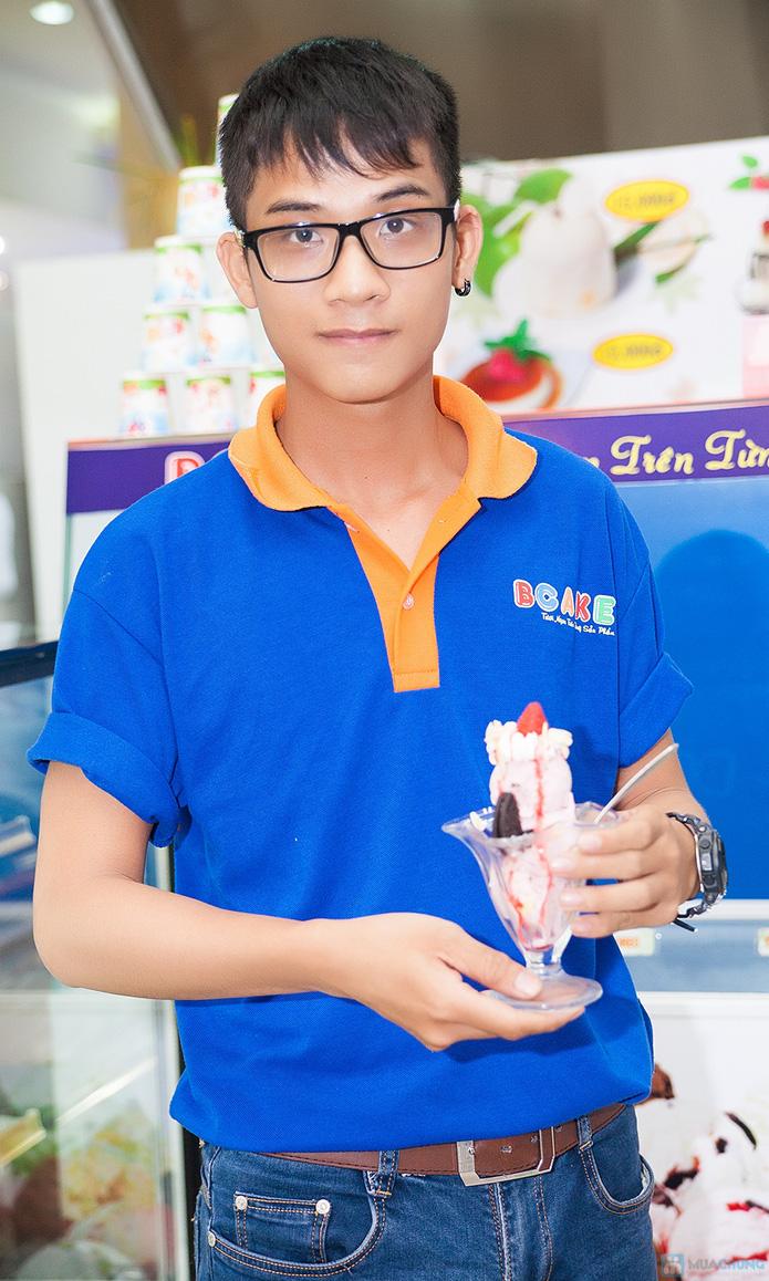 Lẩu kem tại cửa hàng bánh kem Bcake - 8
