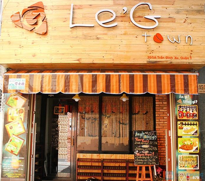 Phiếu ăn uống tại Le'G Town - 5