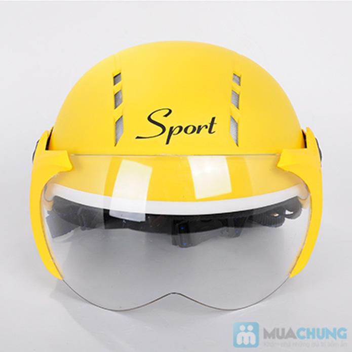 Nón bảo hiểm sport có 12 lỗ thông gió - 2