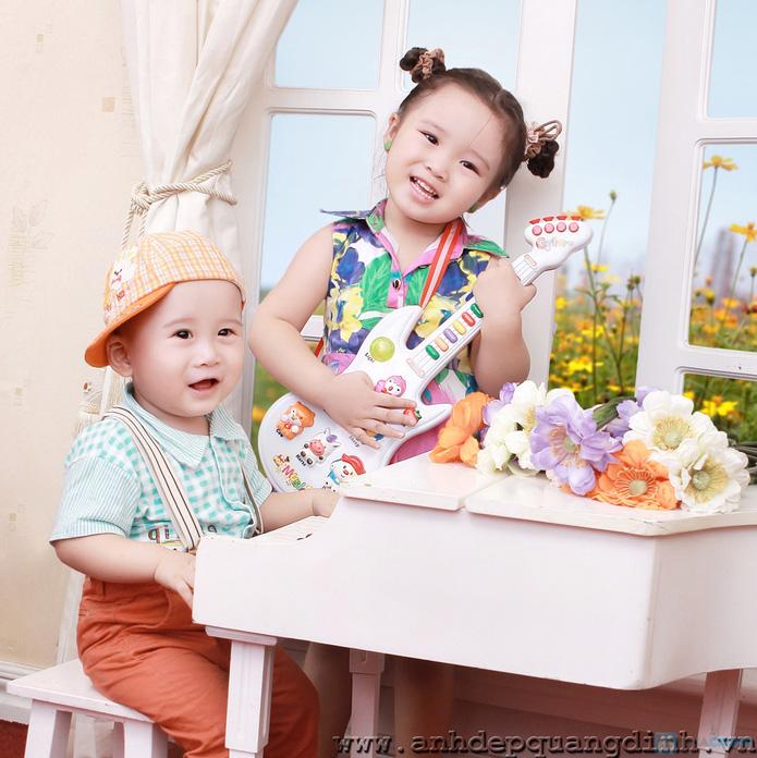 Chụp ảnh cho bé tại studio Ảnh đẹp Quang Định - 17