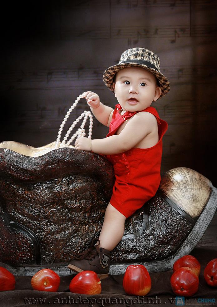 Chụp ảnh cho bé tại studio Ảnh đẹp Quang Định - 12