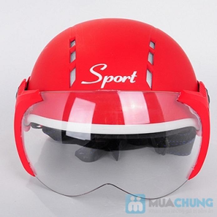 Nón bảo hiểm sport có 12 lỗ thông gió - 1