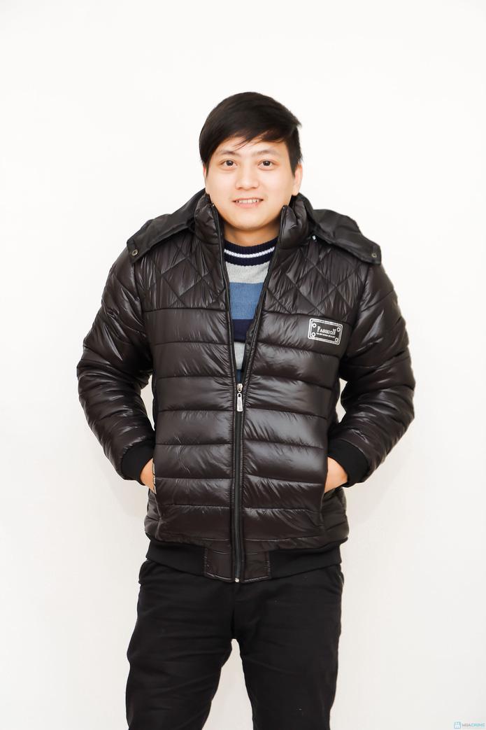 áo phao ấm áp cho nam - 4