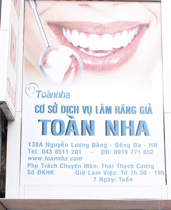Voucher bọc răng sứ titan tại nha khoa Toàn Nha - 1