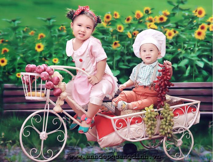 Chụp ảnh cho bé tại studio Ảnh đẹp Quang Định - 20