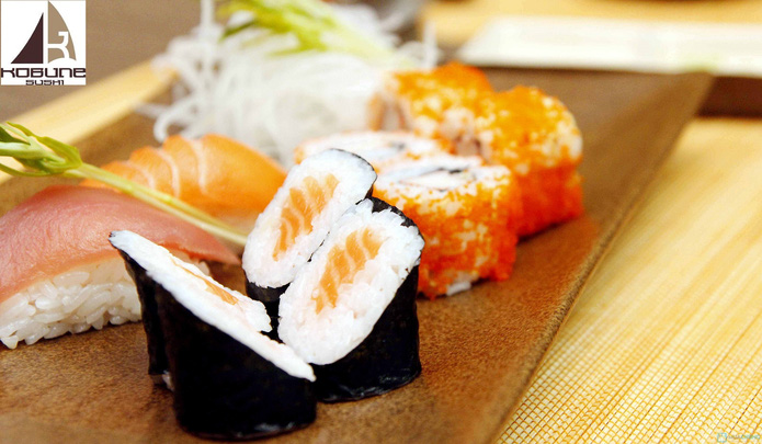 Set ăn 2 người tại nhà hàng Nhật Bản Kobunesushi Royal - 3