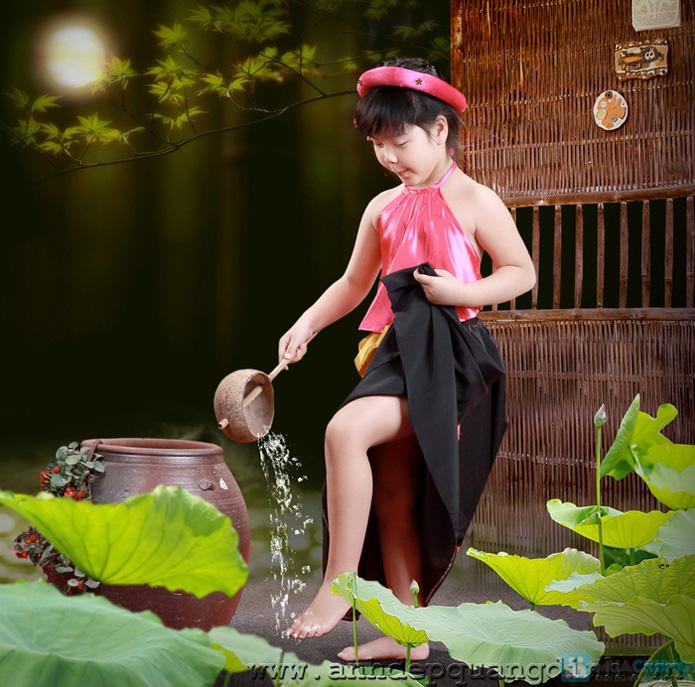 Chụp ảnh cho bé tại studio Ảnh đẹp Quang Định - 29