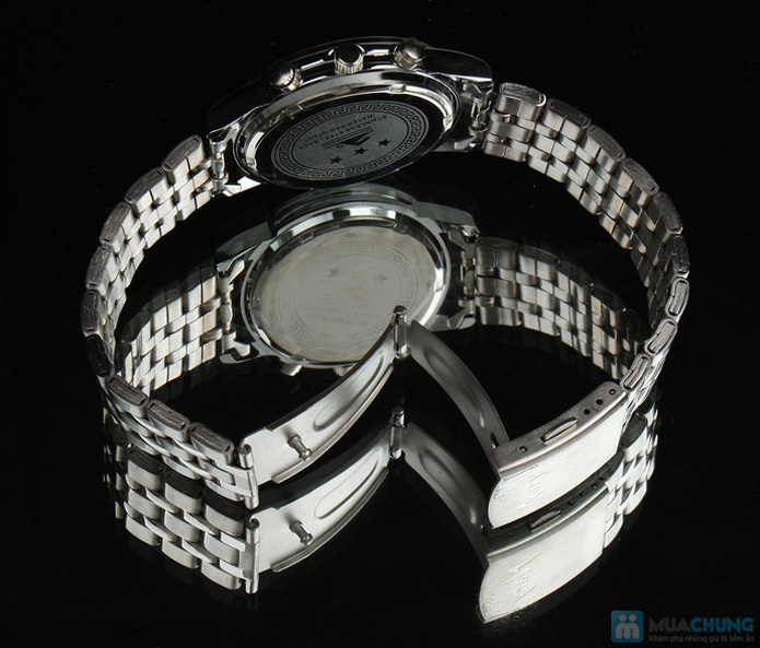 Đồng hồ nam mặt tròn thời trang - 3