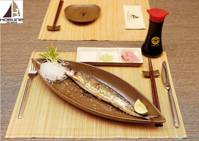 Set ăn 2 người tại nhà hàng Nhật Bản Kobunesushi Royal - 6