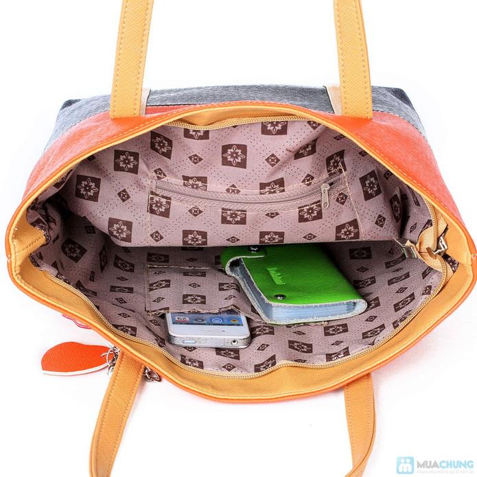 Túi xách thời trang logo hình trái tim - 8