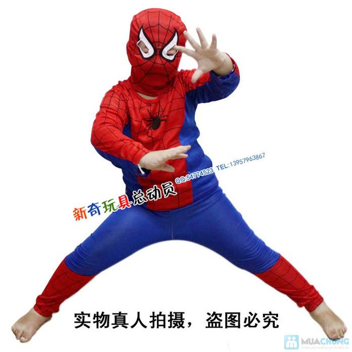 Bộ quần áo người nhện cho bé - 9