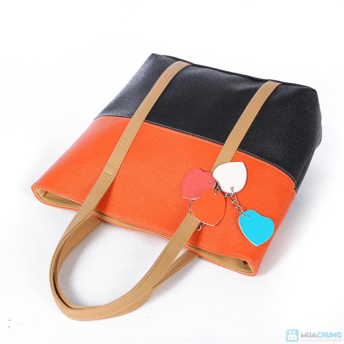 Túi xách thời trang logo hình trái tim - 7