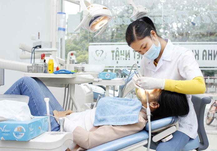 Hàn răng công nghệ cao tại Nha khoa Việt Nhật - 1