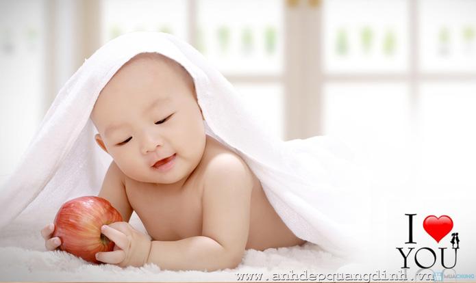 Chụp ảnh cho bé tại studio Ảnh đẹp Quang Định - 5