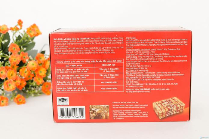 1 Hộp Nước cốt gà nhân sâm nhập khẩu Thái Lan 420ml (6 hộp nhỏ) - 3