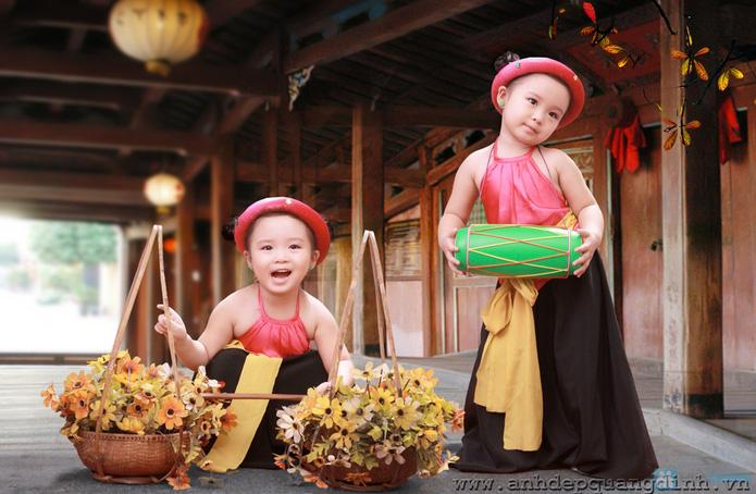 Chụp ảnh cho bé tại studio Ảnh đẹp Quang Định - 19
