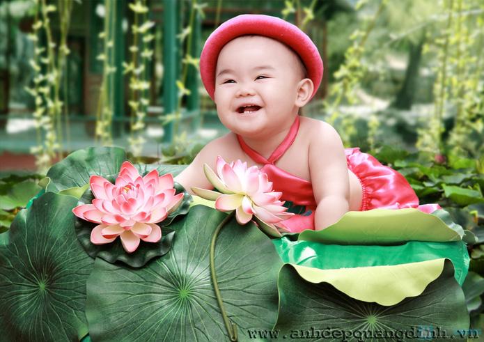 Chụp ảnh cho bé tại studio Ảnh đẹp Quang Định - 14