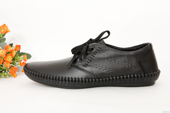 Giày phong cách cho nam dây buộc( da bò thật ) - 3