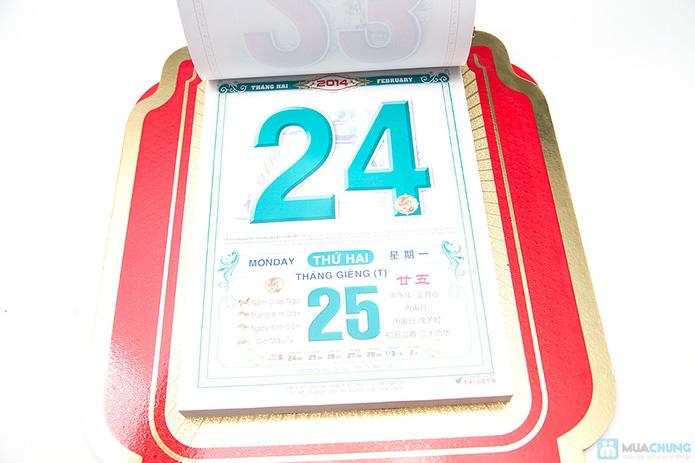 Bộ bìa lịch siêu đại 2014 - 4
