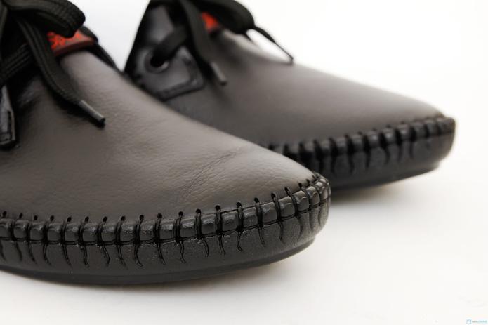 Giày phong cách cho nam dây buộc( da bò thật ) - 2