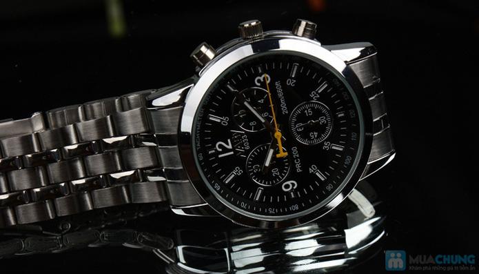 Đồng hồ nam mặt tròn thời trang - 5