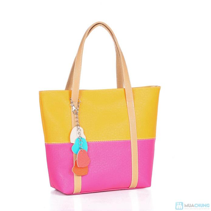 Túi xách thời trang logo hình trái tim - 1